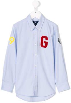 Gant Kids patch shirt