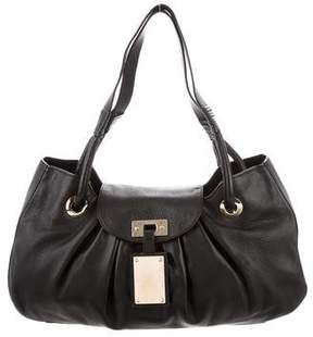 Oscar de la Renta Leather Shoulder Bag