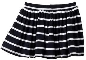 Joe Fresh Stripe Knit Skirt (Toddler & Little Girls)