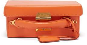 Mark Cross Grace Small Leather Cross Body Bag - Womens - Orange
