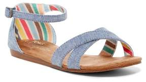 Toms Correa Crisscross Sandal (Little Kid & Big Kid)