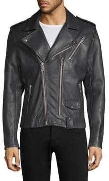 Joe's Jeans Novus Leather Moto Jacket