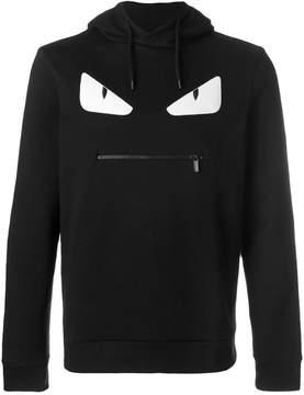 Fendi Bag Bugs-appliqué hoodie