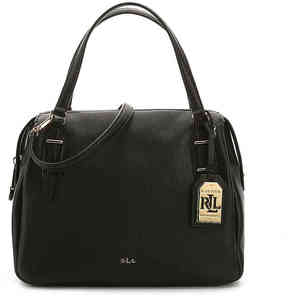 Lauren Ralph Lauren Women's Easby Eileen Leather Satchel