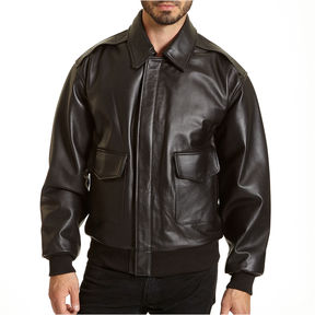 JCPenney Excelled Leather Flight Jacket - Big & Tall