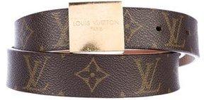 Louis Vuitton Monogram Ceinture Carre Belt
