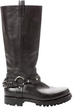 Polo Ralph Lauren Leather biker boots
