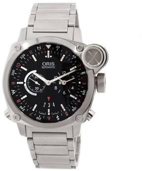 Oris BC4 Flight Timer 690 7615 4154 MB Stainless Steel Mens Watch
