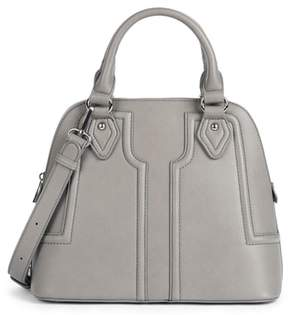 Sole Society Structured Faux Leather Dome Satchel