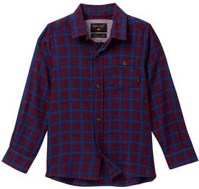 Quiksilver Phaser Setting Long Sleeve Shirt (Toddler & Little Boys)