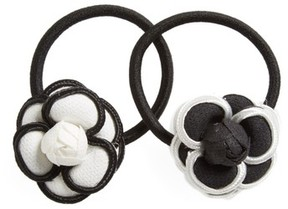 Tasha 2-Pack Floral Ponytail Holders