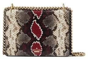 Kate Spade Reese Park - Marci Snake Embossed Leather Shoulder Bag