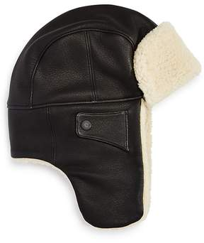UGG Leather Trapper Hat