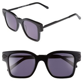 Karen Walker Women's X Monumental Julius 49Mm Square Sunglasses - Black