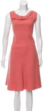 Bottega Veneta Sleeveless Virgin Wool Dress