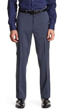 Kenneth Cole New York Sharkskin Flat Front Dress Pant