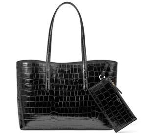 Aspinal of London Regent Tote In Scarlet Saffiano