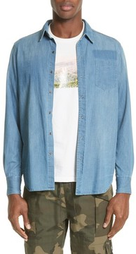 Ovadia & Sons Men's Eastern Denim Sport Shirt