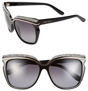 Jimmy Choo Women's 58Mm Retro Sunglasses - Black