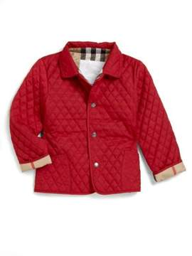 Burberry Infant's Quilted Jacket