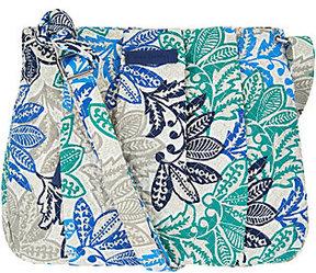 Vera Bradley Signature Print Hadley Crossbody Handbag - ONE COLOR - STYLE