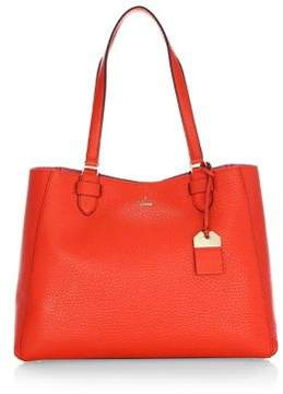 Kate Spade Carter Street Tyler Leather Tote - PICNIC RED - STYLE