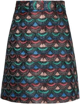 G.V.G.V. embroidered skirt