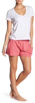 Daniel Buchler Striped Lounge Shorts