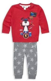 Petit Lem Baby's Two-Piece top & Pants Set