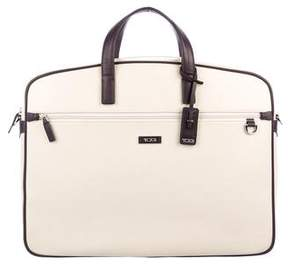 Tumi Bicolor Large Slim Briefcase