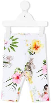 MonnaLisa floral print leggings