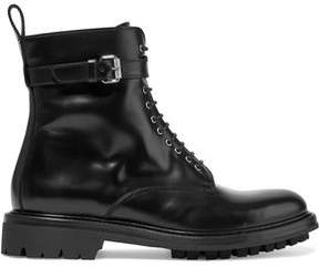 Belstaff Finley Glossed-Leather Ankle Boots