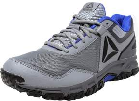 Reebok Men's Ridgerider Trail 3.0 Grey / Alloy Blue Black Ankle-High Runner - 12M