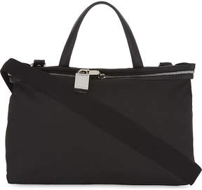 CALVIN KLEIN 205W39NYC Canvas and leather small tote