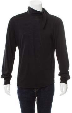 CNC Costume National Wool Long Sleeve Shirt