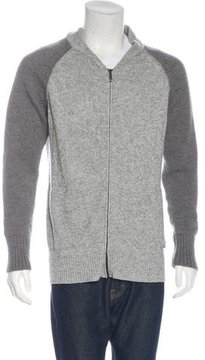 Just Cavalli Wool Zip Sweater