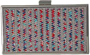 Jessica McClintock Ella Sparkle Box Clutch Clutch Handbags