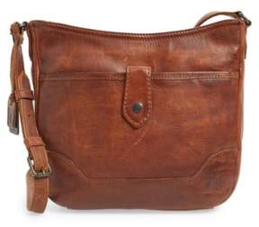 Frye Melissa Button Crossbody Bag - Brown