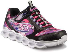 Skechers S Lights Lumi-Luxe Girls' Light-Up Shoes