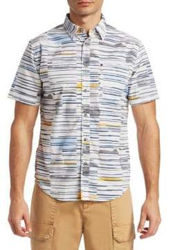 Madison Supply Watercolor Short-Sleeve Shirt