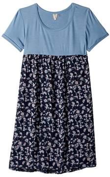 Roxy Kids Branche Of Lilac Dress Girl's Dress