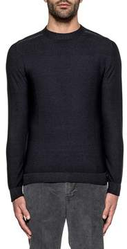 H953 Men's Blue Wool Sweater.