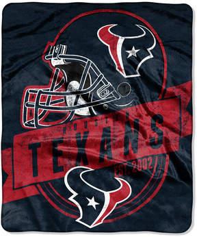 Northwest Company Houston Texans Micro Raschel 12th Man Throw Blanket