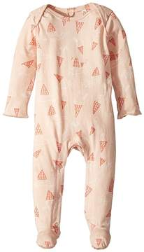 Stella McCartney Rufus All Over Ice Cream Printed Footie Girl's Jumpsuit & Rompers One Piece