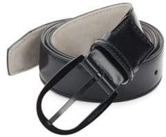 Salvatore Ferragamo Polished Leather Belt