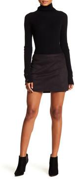 David Lerner Hi-Lo Rounded Skirt