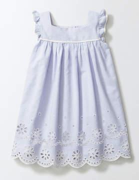 Boden Broderie Detail Dress