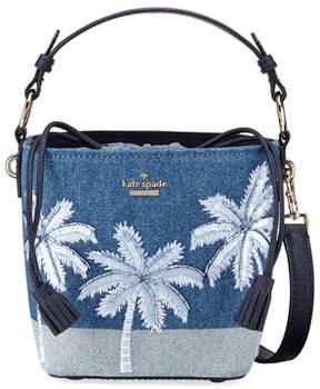 Kate Spade California Dreaming Denim Pippa Bucket Bag