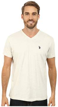 U.S. Polo Assn. V-Neck Short Sleeve T-Shirt Men's Short Sleeve Pullover