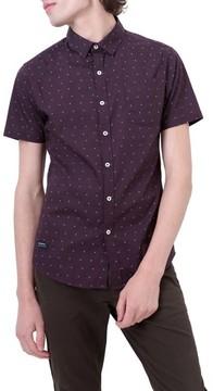 7 Diamonds Men's Hit Parade Woven Shirt